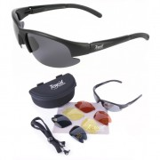 Cruise Black Sunglasses for Pilots