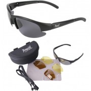 Pro Black Polarised Fishing Sunglasses