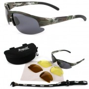 Camouflage Polarised Fishing Sunglasses