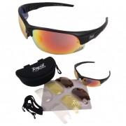 Edge Black Bike Sunglasses